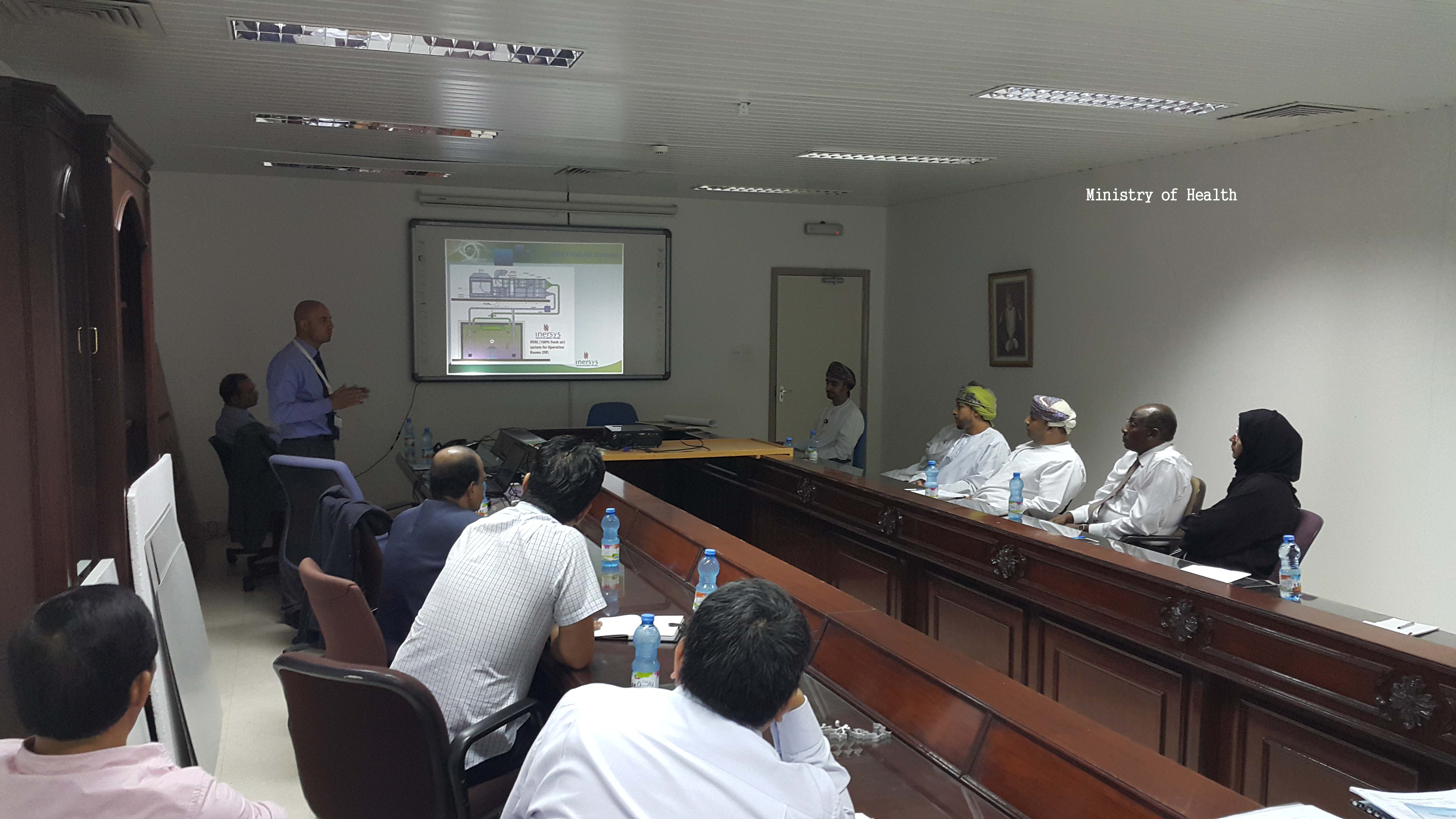 Damvent gives two technical seminars/presentations in Muscat (Oman)